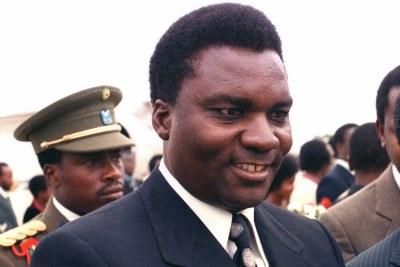 Juvenal Habyarimana, ancien président de la République rwandaise de 1973 jusqu'à son assassinat en 1994