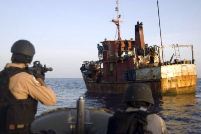 French Navy capture Somali pirates (file photo).