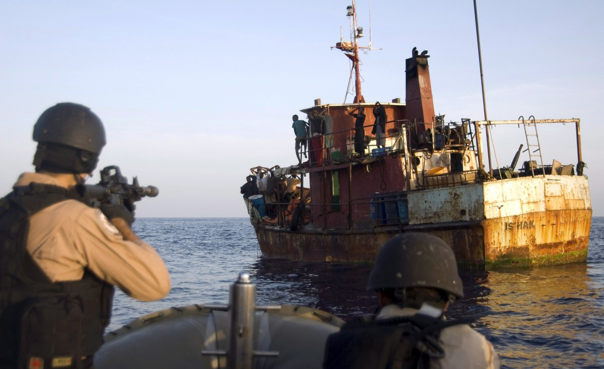 Suspected Somali Pirates Transferred to Seychelles