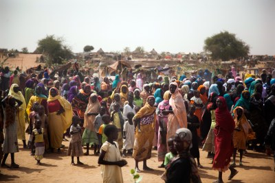 A new settlement in Zam Zam camp for Internally Displaced People in North Darfur.