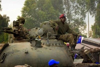 Des militaires des Forces armées de la RDC (FARDC)