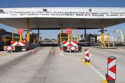 Toll Gate in zimbabwe.