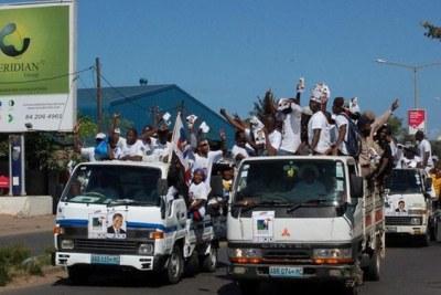 Renamo supporters (file photo).