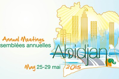 The Bank's 50th Annual Meeting will take place in Abidjan, Côte d'Ivoire, from May 25-29, 2015.