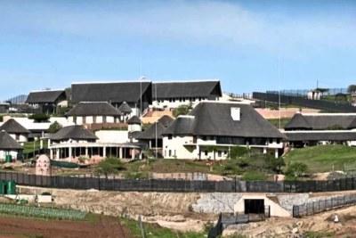 President Jacob Zuma's private Nkandla residence.