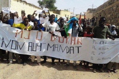 Mouvement de protestation à Dikhil, Djibouti.