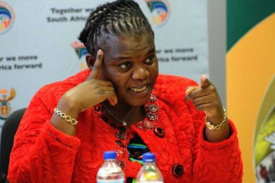 Public Service and Administration Minister Faith Muthambi (file photo).