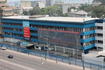 Siège de la Ceni à Kinshasa