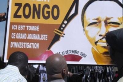 17ème anniversaire de l'assassinat du journaliste Norbert ZONGO