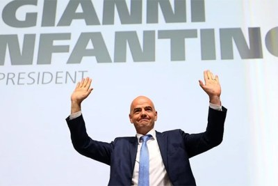 Gianni Infantino has  been elected as the President of FIFA