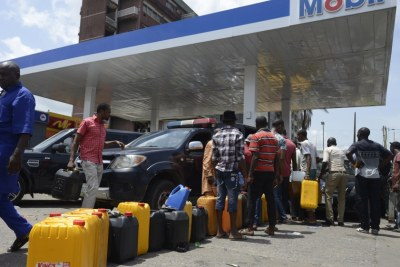 Fuel scarcity.