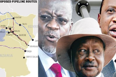 Tanzania has joined Kenya and Uganda in the search for a least cost option for a pipeline that will take crude oil from East Africa to export markets and allow its natural gas to be exported to neighbouring countries.