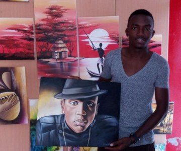 Rwandan Artist Promoting Art Through Social Media
