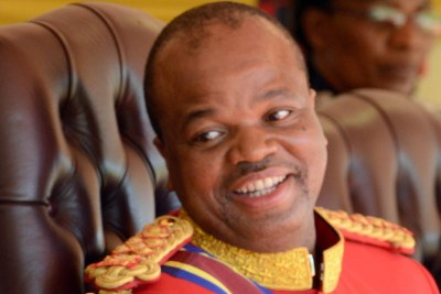 King Mswati III (file photo).