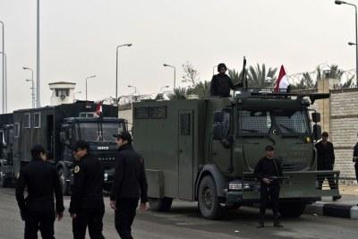 (Photo d'archives) - Huit policiers tués par des hommes armés au sud du Caire