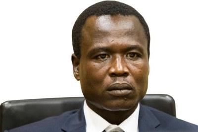 Former LRA commander Dominic Ongwen.