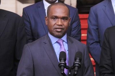 Alpha Barry chef de la diplomatie burkinabé