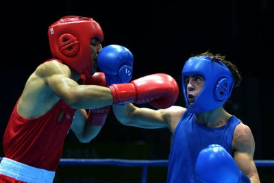 (boxeur africain au RIO 2016)