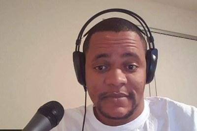Vocal talkshow host, Henry Costa.