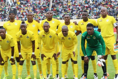 Zimbabwe national soccer team, The Warriors.