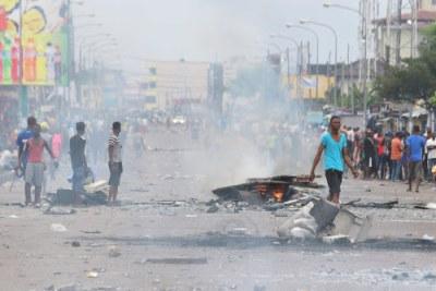 Protests in Kinshasa