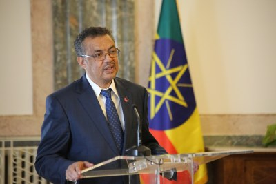 Dr. Tedros Adhanom Ghebreyesu Ministre des affaires étrangères de l'Ethiopie