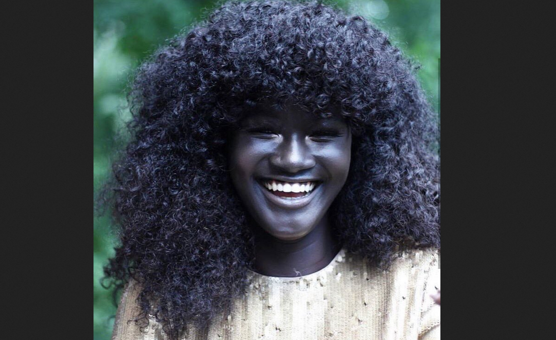 Senegal Meet Worlds Darkest Model Breaking The -1868