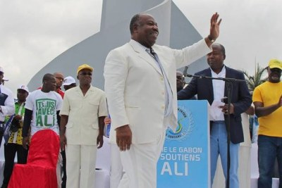 Ali Bongo Ondimba, président de la république du Gabon