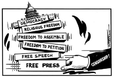 Freedom of press.