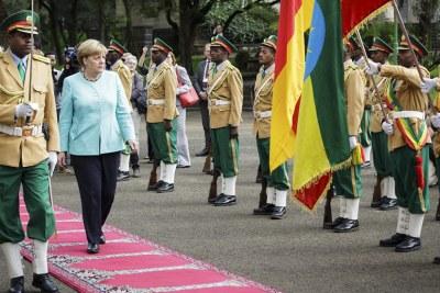 Tournée africaine d'Angela Merkel - Etape éthiopienne