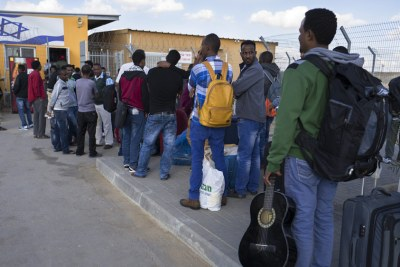 Eritrean Refugees (file photo).
