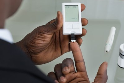 Africa has a highest proportion of undiagnosed diabetes cases (file photo).