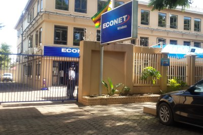 Econet Wireless offices in Harare.