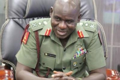 Nigerian Chief of Army Staff, Lieutenant General Tukur Buratai.