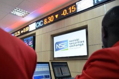 The Nairobi Securities Exchange (file photo).