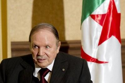 L'ex- président algérien Abdelaziz Bouteflika