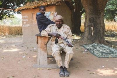 Militia men from the Central African Republic Patriotic Movement (file photo).