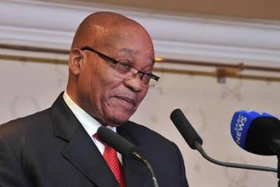 President Jacob Zuma (file photo).