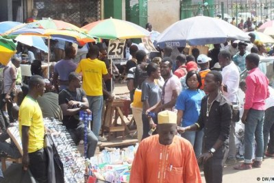 Traders in Cameroon.