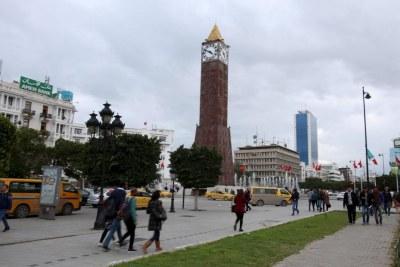 L'avenue Habib Bourguiba, centre névralgique de Tunis.