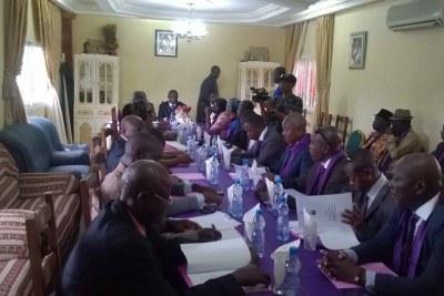 Dialogue politique au Gabon