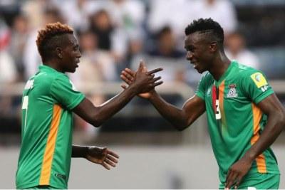 Mondial U20 - Footballeurs zambiens