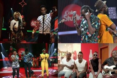 Coke Studio Africa participants.