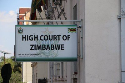High Court of Zimbabwe.