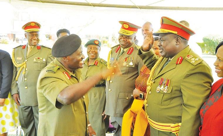 Top Ugandan Army Generals On Retirement Lists Revealed