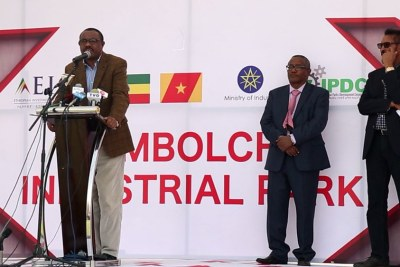 The Industrial Parks Development Corporation has inaugurated the Mekelle Industrial Park and the Kombolcha Industrial Park (file photo).
