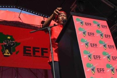EFF leader Julius Malema (file photo).