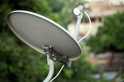 Satellite television.