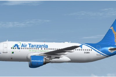Air Tanzania (file photo)