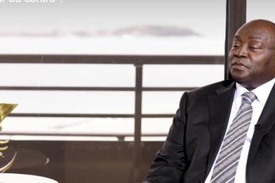 M. Tiémoko Meyliet Kone, Gouverneur de la Banque Centrale des Etats de l'Afrique de l'Ouest (BCEAO) lors de son passage à l'émission « Le Débat Africain » d'Alain Foka de Radio France Internationale (Rfi).